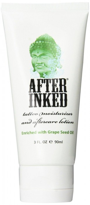 After inked for new tattoo aftercare lotion healing for After tattoo lotion